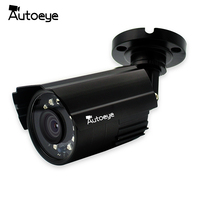 Autoeye 2MP AHD Camera 1080P CCTV Security Surveillance Camera Metal Bullet Weatherproof 24pcs IR 20M Nightvision