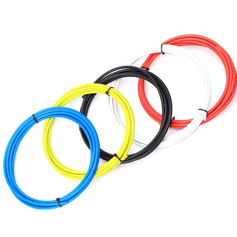 Durable 4mm 1M-5M MB RB Folding Bike Shifter Steel Wire Cable Tube Housing New