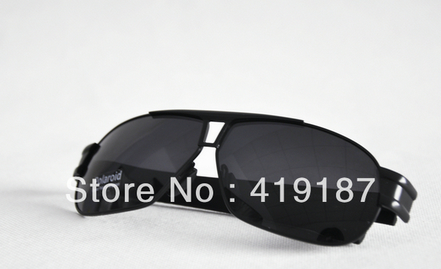 Free Shipping 1pcs/lot Men sunglasses New Design with Box tag P8516 silver border!