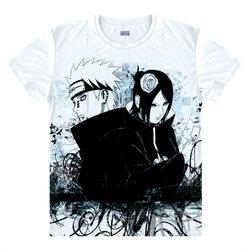 NARUTO T-Shirt Uzumaki Naruto koszula męska 3D drukuj koszulki Anime koszulki piękny śliczne z krótkim rękawem męskie koszulki anime cosplay w przypadku 1