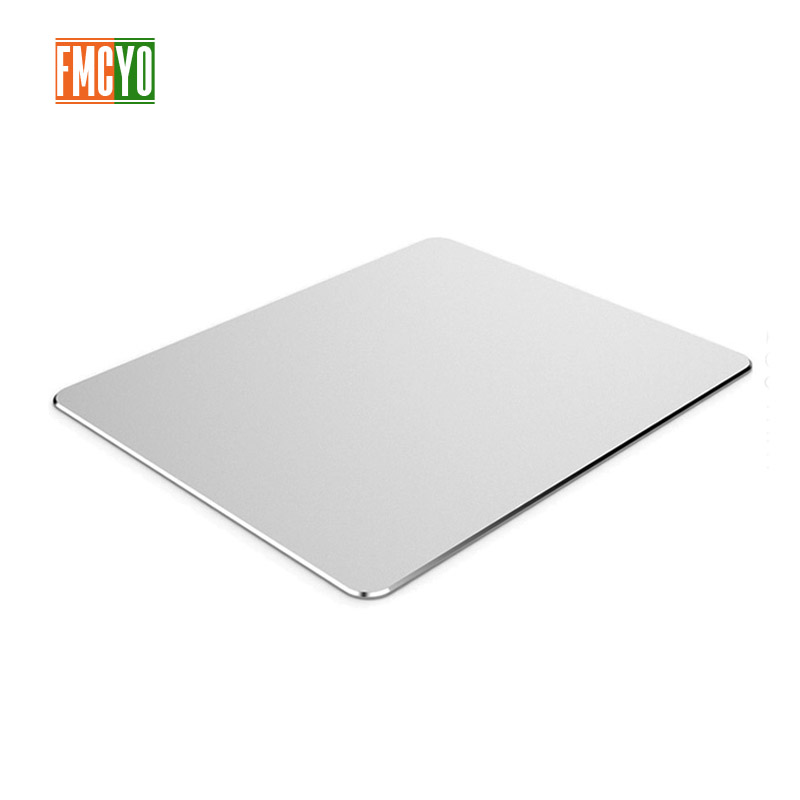 Image 2 - Aluminum mouse pad Apple notebook mouse pad office game home metal mouse pad small oversized-in Mouse Pads from Computer & Office
