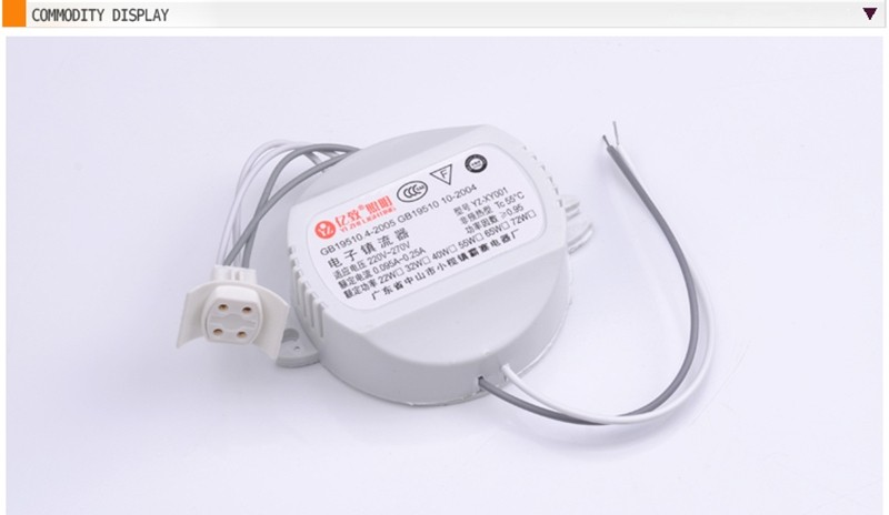 Us 4 95 10 Off T5 T6 Annular Tubes Fluorescent Lamp Electronic Ballast 22w 32w 40w Circular Tube Ceiling Lights Electronic Ballast In Portable