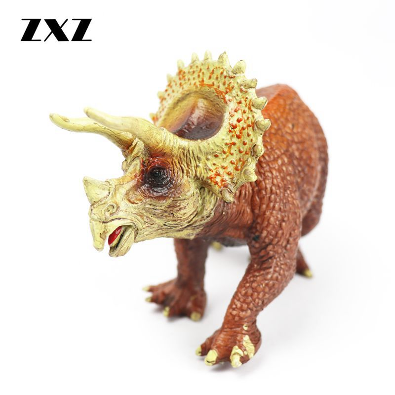 Jurassic Park Triceratops action figure dinosaur model toy PVC figurine solid