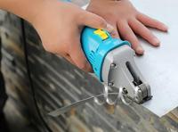 Электрический Утюг лист Scissor ручной металла резак Алюминий режущего инструмента 1,6 мм 220 В