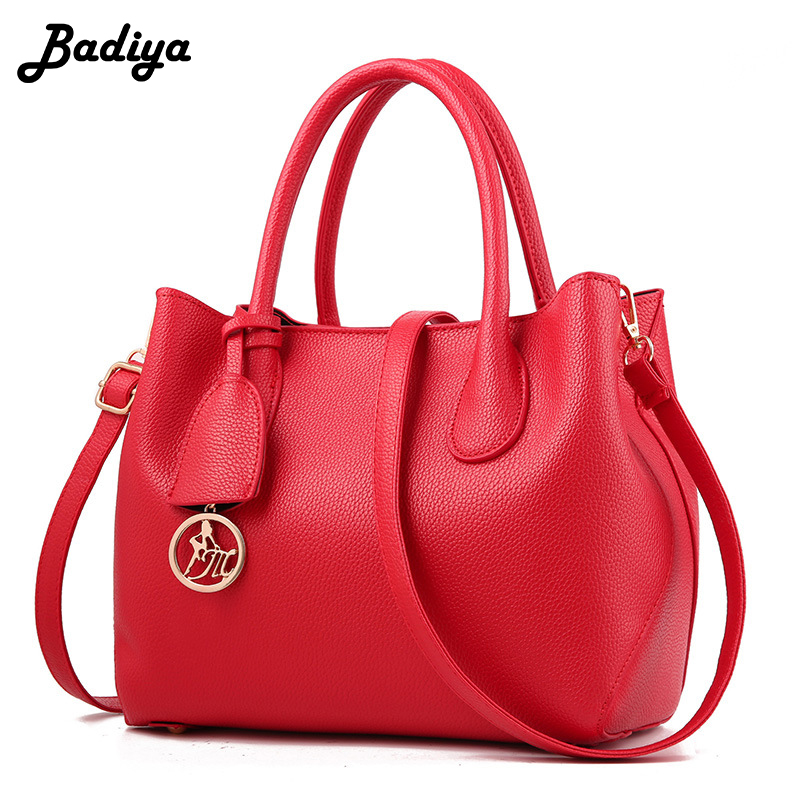 Women's New Luxury Handbag Solid Large Capacity Casual Shoulder Bag PU Leather Ladies Office Tote Bags Female Bolsa women daily practical handbag fashion tote pu leather bag litchi pattern ladies multifunction solid shoulder bags female bolsa