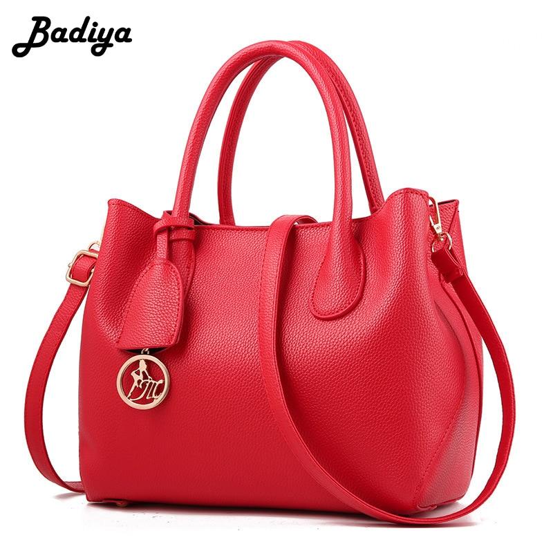 Women's New Luxury Handbag Solid Large Capacity Casual Shoulder Bag PU Leather Ladies Office Tote Bags Female Bolsa