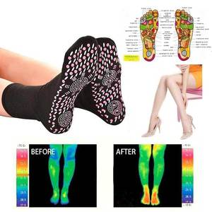 Image 1 - New Self Heating Health Care Socks Tourmaline Magnetic Therapy Comfortable And Breathable Massager Winter Warm Foot Care Socks