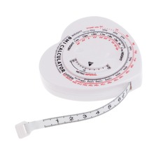 1,5 м Индекс Массы Тела в форме сердца, индекс массы тела, измерительная лента, калькулятор, диета мышц тела, правило потери веса, измерительные ленты, инструменты