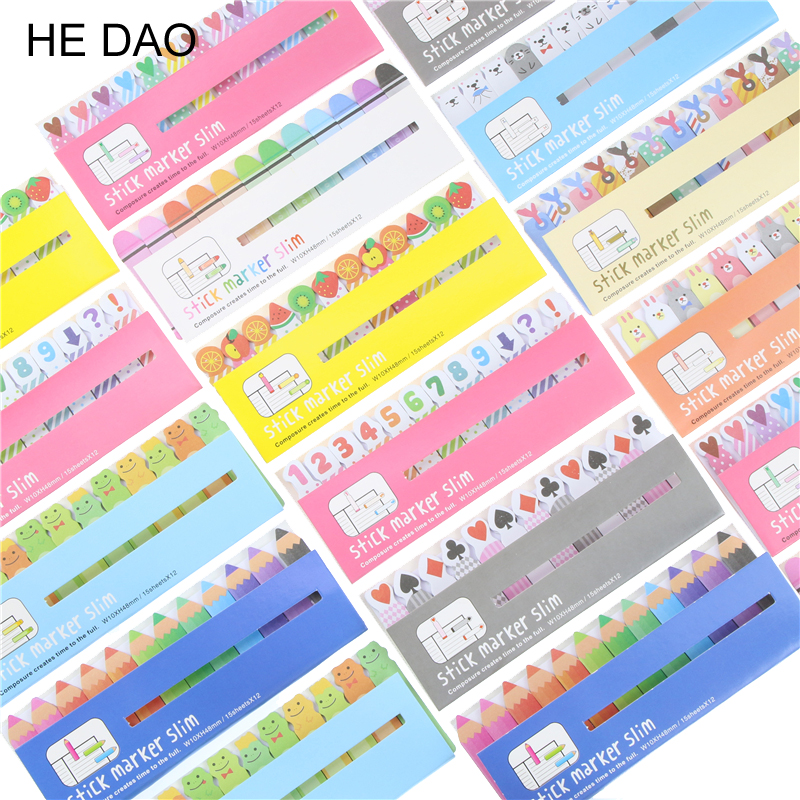 Diy Mini Cute Kawaii Cartoon Animal Memo Pad Frog Rabbit Love Watermelon It Note Paper Stickers Korean Stationery Free Shipping love note