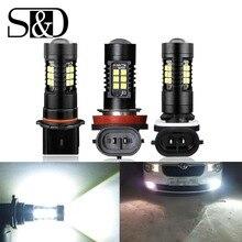 2pcs 1200Lm H11 H8 LED Car Lights Auto Bulbs H27 880 881 P13W LEDs Driving font