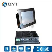 In Stock 8 Inch Industrial Pc Rs232 Aluminium Black Mini Pc With 2GB RAM