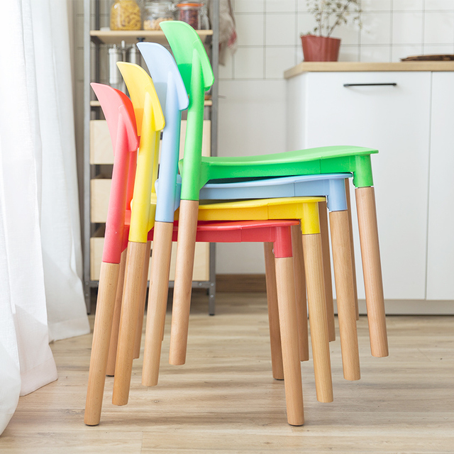 Assembled Modern Style Dining Chair Modern Chair Lounge Plastic Chair For  Kitchen Dining Bedroom Living Room