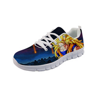 THIKIN Brand Sneakers Fashion Style Dragon Ball Hot Sale Mesh Lightweight Women's Shoes Flat Lace Up Running Shoes For Girls