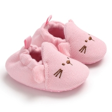New Baby Shoes First Walkers Infant Baby Girls Boys Pram Crib Shoes So