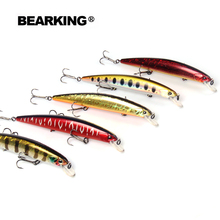 Bearking 2017 excellent  good fishing lures minnow,quality professional baits 13cm/21g hot model crankbaits penceil bait popper