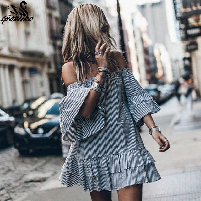 2019 Robe de Plage полосатый пляжное платье-туника купальный костюм платье пляжный халат саронг Женская одежда для плавания накидка на купальный костюм туники