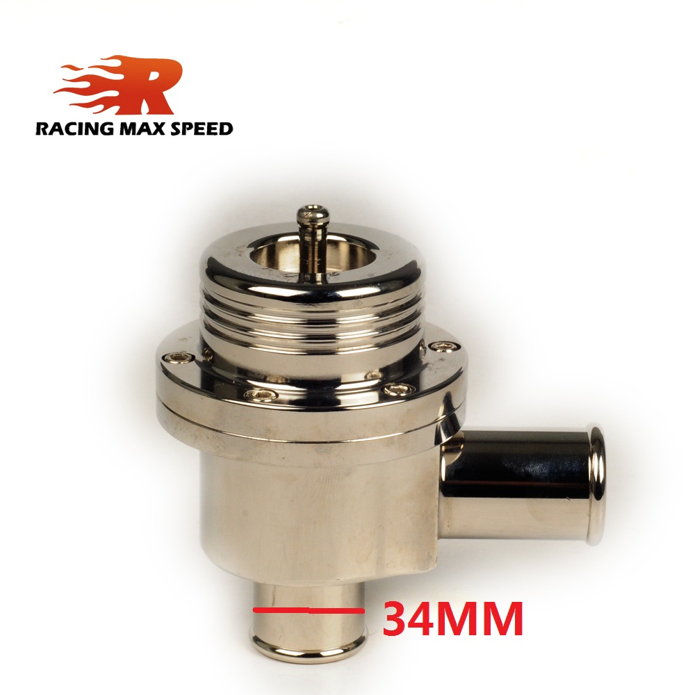Evrensel oto alüminyum parçası turbo kapalı darbe vana devridaim makas boşaltma valfi 25MM veya 34mm bov ses