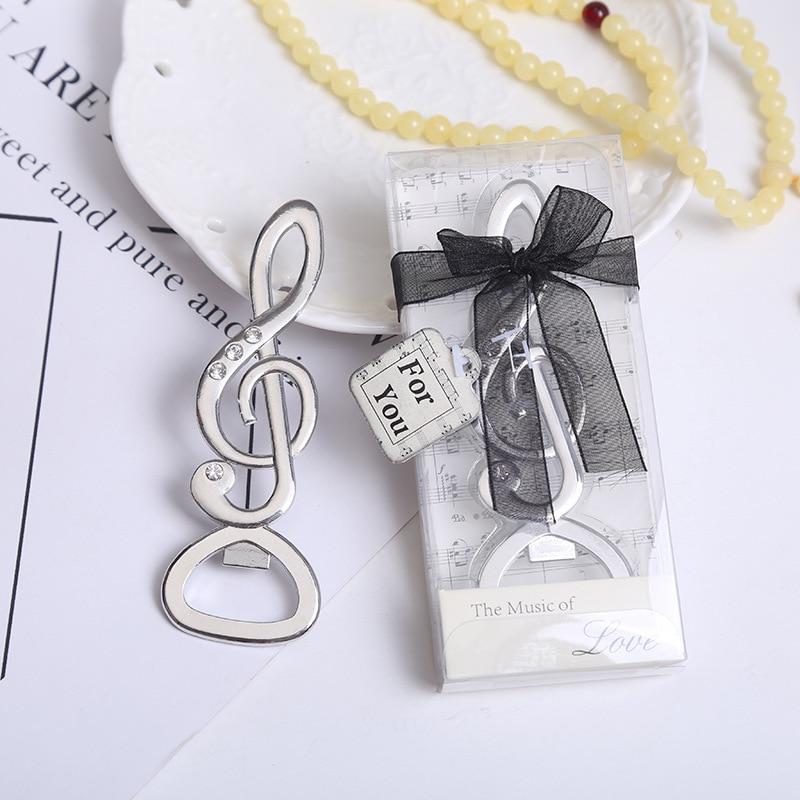 """จัดส่งฟรี100ชิ้น""""เพลงแห่งความรัก""""ซิมโฟนีหมายเหตุดนตรีเพชรที่เปิดขวดงานแต่งงานโปรดปรานอาบน้ำเจ้าสาวของขวัญพรรค-ใน ของขวัญงานปาร์ตี้ จาก บ้านและสวน บน   3"""