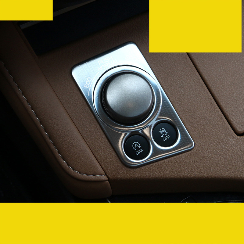 lsrtw2017 stainless steel car driving modle adjuster trims for lexus es200 es250 es300 es350 2012 2013