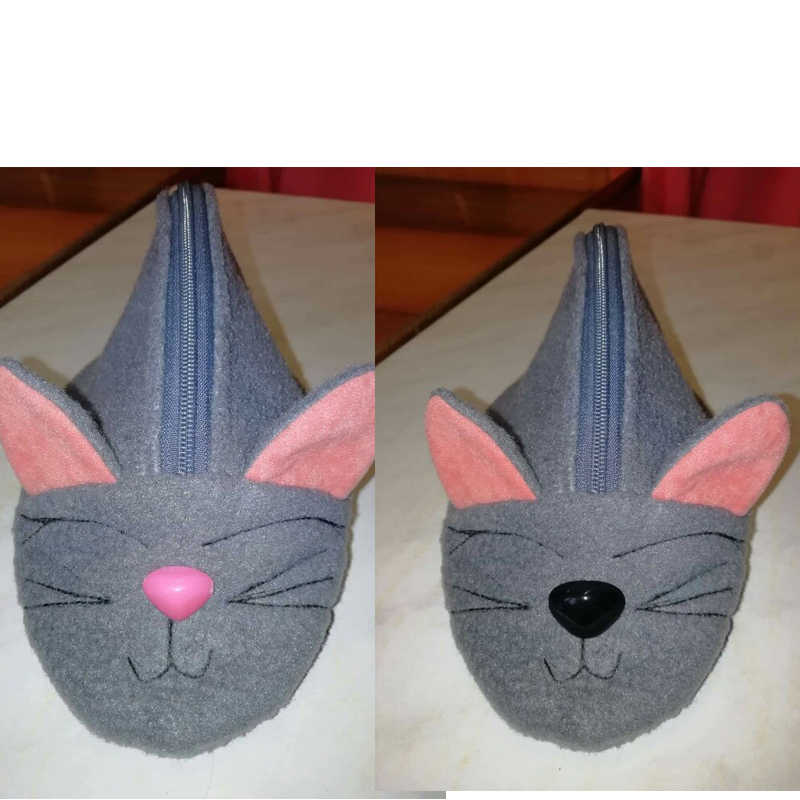 150 шт круглые плоские черные глаза треугольник нос пластиковые глаза для плюшевый медведь, куклы, делая игрушки глаза амигуруми делая аксессуары