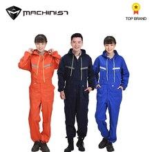 Авто ремонт автомобилей Рабочая Одежда Общая Integrated одежда для мужчин защитная костюмы комбинезон защиты комбинезоны