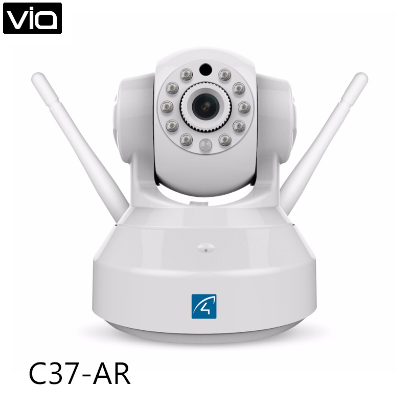 Vstarcam C37-AR Free Shipping Alarm IP Camera two way audio Support Door sensor/motion detector Home Automation Security Alarm wistino high sensitive alarm detector vibration alarm device anti lost door home security electric aaa dry battery free shipping