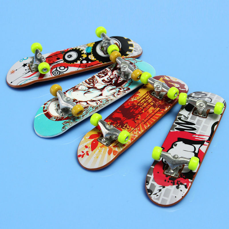 Finger Board Tech Truck Deck Skateboard Boy Kids Children Party Toy Birthday Gifts Random Delicery