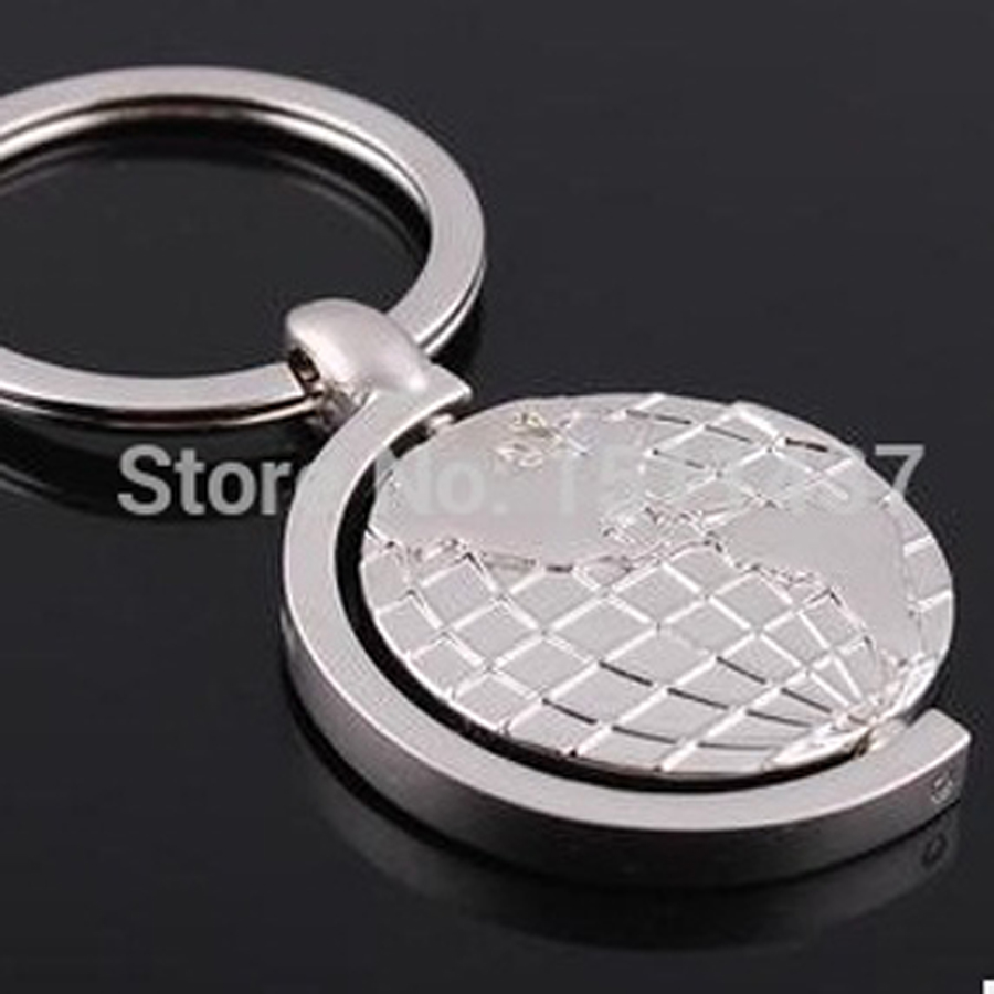 Online Buy Wholesale globe keychain from China globe keychain – Map World Globe Keyrings