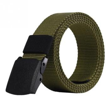 2018 Automatic Buckle Nylon Belt Male Army Tactical Belt Mens Military Waist Canvas Belts Cummerbunds cinto masculino lona 1