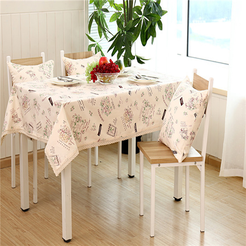 Fashion Cotton Printing Cloth Tablecloths Coffee Table Fashion Simple Table Cloth Cover Towel
