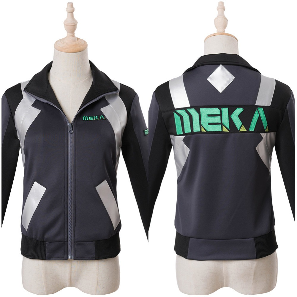 OW Cosplay D.Va DVA Hana Song Cosplay Costume Shooting Star Jacket Sweatshirt Halloween Cosplay Costume Custom Made