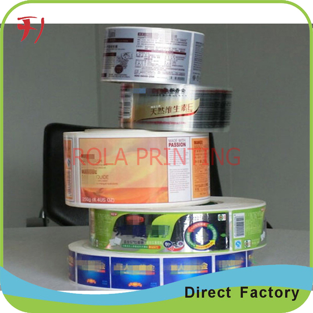 high quality and cheap price custom packaging transparent labels stickers permanent waterproof packaging clear adhesive