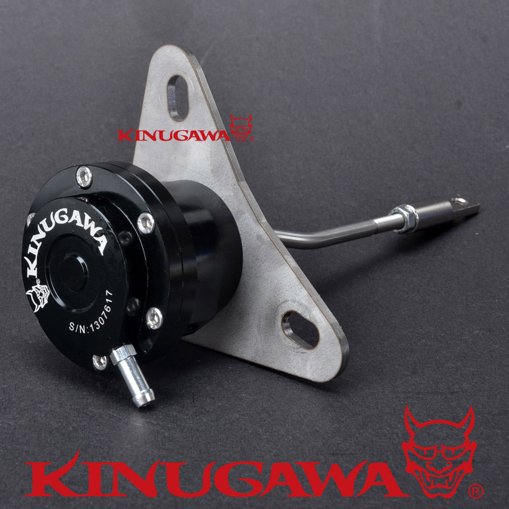 Kinugawa Adjustable Turbo Wastegate Actuator for TOYOTA CT26 1HD 1HD-FTE / for DYNA 13BT 1.0 bar / 14.7 Psi