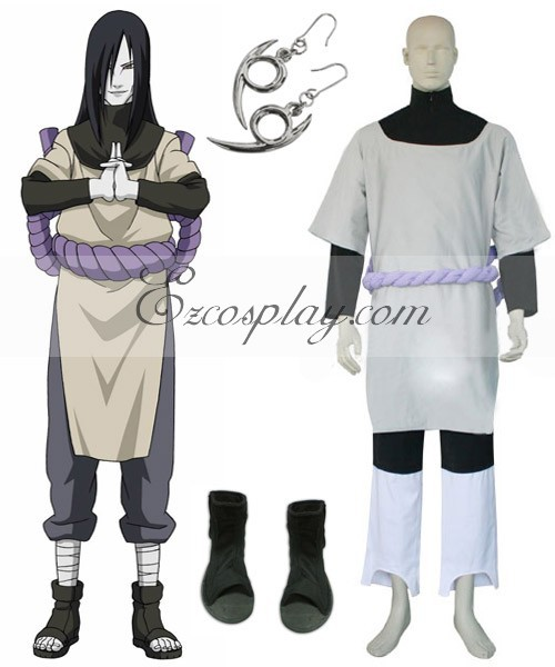 US $54 73 8% OFF|Naruto Orochimaru Cosplay Costume Set E001-in Anime  Costumes from Novelty & Special Use on Aliexpress com | Alibaba Group