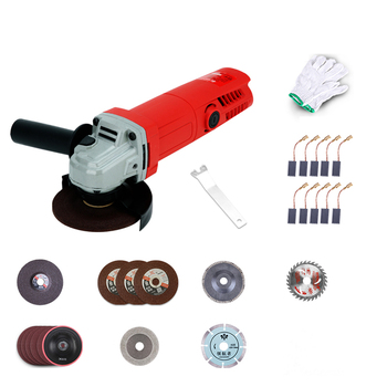 220V Multi-function angle grinder Electric cutting polishing machine for Metal Wood Stone Glass 900W 11000RPM Y