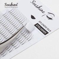 Seashine Individual Lash Eyelash Extensions Russian Volume False Lash Private Label 2D Long Roots Faux 10Trays/Lot Free Shipping