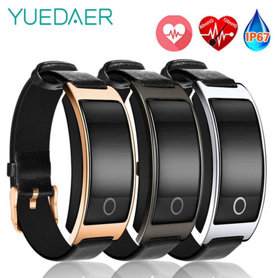 CK11S Smart Band Blutdruck Uhr Herz Rate Monitor Armbanduhr Fitness Armband Sport Schrittzähler Armband PK mi band 3
