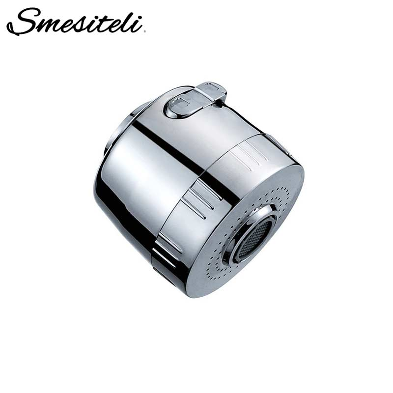 Smesiteli Hot Sale Kitchen Faucet Accessories Replacement Multifunction Pull Out Spout Head 2 Spray Settings Shower