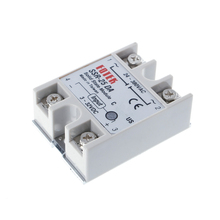 OOTDTY Solid State Relay Module SSR-25DA 25A 250V 3-32V DC Input 24-380VAC Output