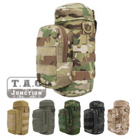 Emerson Tactical MOLLE H2O Hydration Water Bottle Carrier Pocket Kettle Utility Pouch EmersonGear Water Bag Waist Shoulder Packs