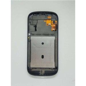 Image 3 - الأصلي الأسود مع الإطار الجبهة LCD ل Yotaphone 2 YD201 YD206 شاشة الكريستال السائل محول الأرقام + شاشة تعمل باللمس الجمعية + أدوات
