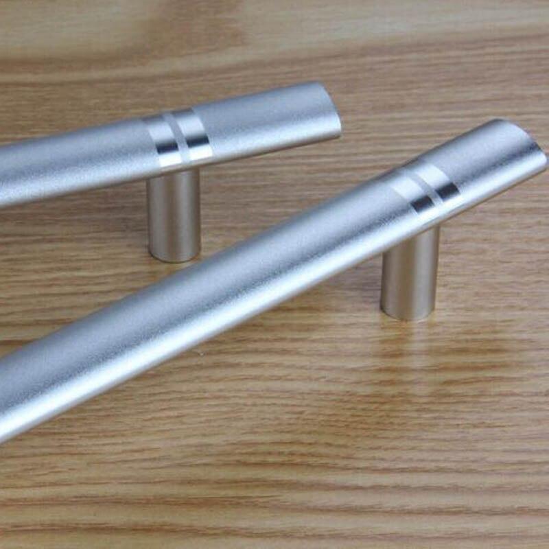 192mm moderne einfache möbel hardware griffe matte silber ...