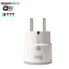 NEO COOLCAM Wifi Smart Plug EU Socket Support Alexa,Google Home,IFTTT Outlet With Timer and Remote Control Via Mobile Phone(China)