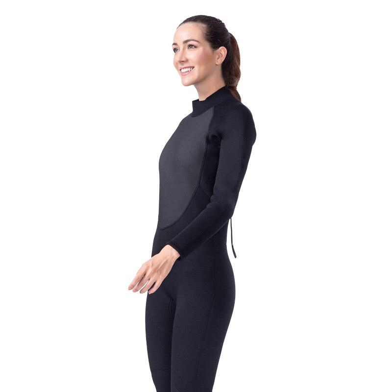 Lifurieux 3 MM femmes combinaison de plongée corps complet néoprène surf combinaisons de protection contre les éruptions cutanées combinaison équipement de natation garder au chaud - 4
