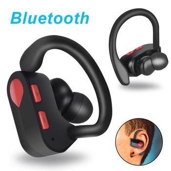 df77a0440f5 Auriculares Bluetooth inalámbricos 2019 auriculares deportivos impermeables  Bluetooth con función de micrófono para Iphone/Airpord/Xiaomi/Samsung