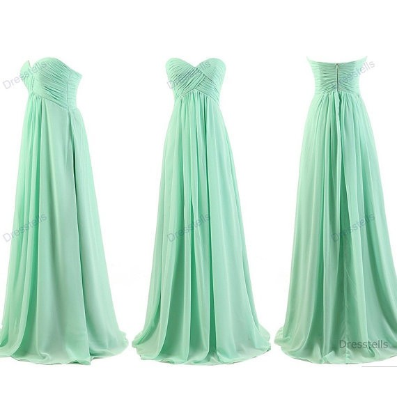 Mint-Bridesmaid-Dresses-A-Line-Sweetheart-Pleated-Chiffon-Long-Bridesmaid-Dress-2015-Floor-Length-Under-70