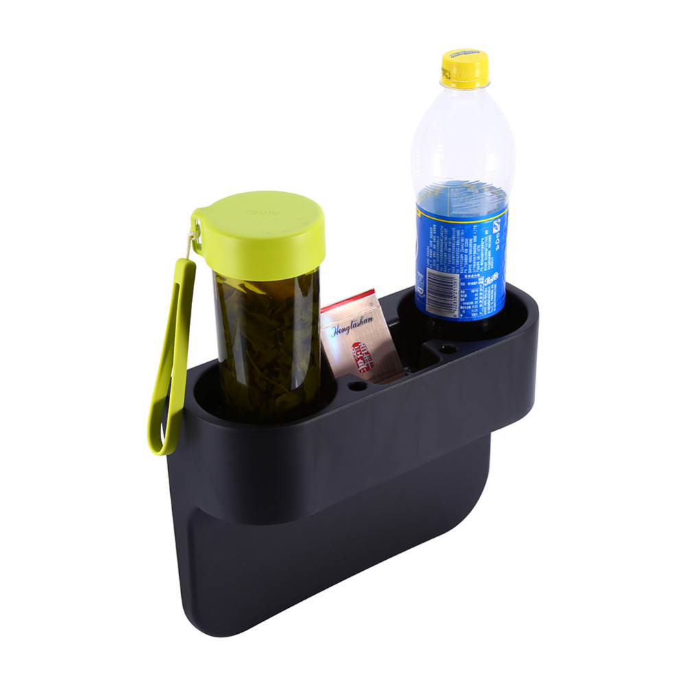 Auto Truck Car Seat Drink Cup Holder Valet Beverage Can Bottle Food Mount Stand Box Organizer Multifunction Vehicle Tool 2color