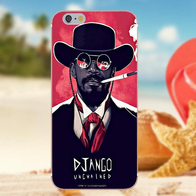 Us 099 Oedmeb Tv Django Unchained Wallpaper For Iphone 4s 5s 5c Se 6s 7 8 Plus X Galaxy Note 5 6 8 S9 Grand Core Prime Alpha In Half Wrapped Cases