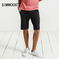 SIMWOOD 2017 Summer New Shorts Men Sweatpants Fashion Casual High Quality Cotton Drawstring Vintage Brand Clothing
