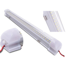 72 Lampu Tabung LED Bar 12-108V Mobil Kompartemen LED Lampu Strip Bar dengan Switch Perbaikan Lampu lampu Mobil Lampu Tabung Bar(China)